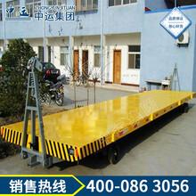 非标重型模具搬运双向引牵平板拖车平板牵引拖车,四轮转向平板牵引拖车图片