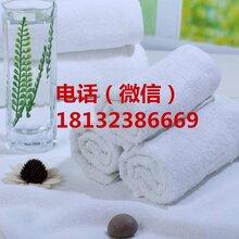 厂家直供一次性纯棉白毛巾白度好吸水不掉毛
