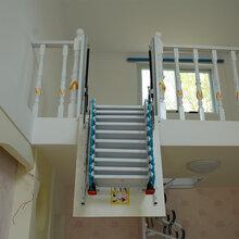 聊城復式閣樓伸縮樓梯哪里有賣圖片