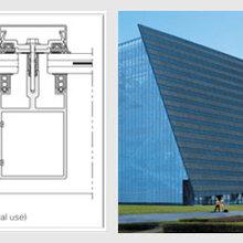 广州光电幕墙太阳能光伏玻璃幕墙图片