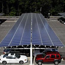 深圳光电幕墙太阳能光伏车棚图片