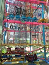 供应儿童拓展攀岩游乐设施,厂家定制儿童拓展乐园图片