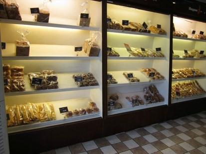 高档面包柜架展柜玻璃蛋糕店展示柜专柜中岛柜