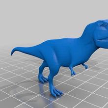 光神王市场提供100万3d打印模型素材下载-霸王龙STL格式免费下载图片