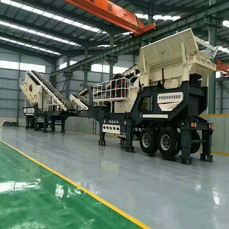 沙石料场破碎机移动碎石机山石破碎机生产线厂家
