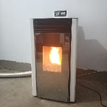 100平饭店用小型颗粒取暖炉家用生物质采暖炉颗粒炉图片