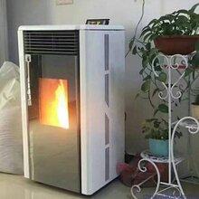 无噪音节能生物质颗粒取暖炉厂家家用颗粒炉采暖炉图片