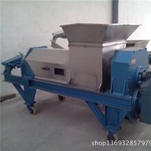 商业生姜榨汁机水果压榨机新乡天众不锈钢双螺旋压榨机