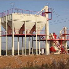 时产20吨饲料粉碎生产线饲料加工设备图片