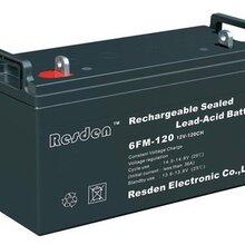 雷斯顿免维护蓄电池6GFM200/12V200AHUPS/EPS直流屏专用