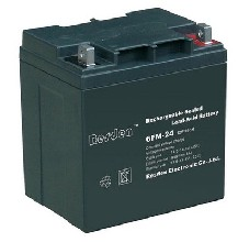 雷斯顿12V24AH免维护蓄电池6-GFM-24直流屏UPS电源专用电池