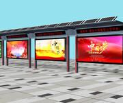 公交站台灯箱价格成都公交站台灯箱成都灯箱价格鑫泰来供图片
