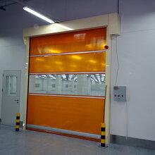 天津铝合金卷帘门铝合金车库门铝合金伸缩门伟业铝合金门窗厂图片