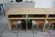 ikezhuo/科桌嵌入式电脑桌翻转式电脑桌优点美观无边框