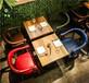 天津咖啡厅卡座沙发天津皮质咖啡厅卡座沙发单卡双卡