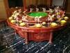 天津实木火锅桌哪里有榆木火锅桌价格火锅桌厂家