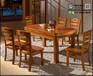 天津纯实木餐桌椅全实木餐桌椅购买实木餐桌
