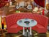 天津卡座沙發樣式卡座沙發款式靠墻的沙發