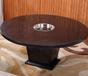 天津木质火锅桌椅陶瓷火锅餐桌理石火锅桌椅