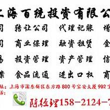 上海商务咨询公司注册费用