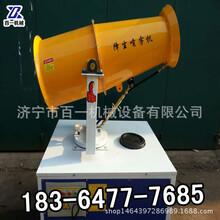 江苏泰州叶轮风叶可移动式电动雾炮机降温除尘专用雾炮机360度无死角雾机