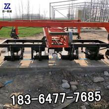 自动行走悬轨式刻纹机桁架式刻纹机混凝土路面自动刻纹机厂家