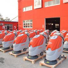 上海梁玉玺洗地机工厂车间手推式全自动电瓶洗地机T3