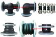 膨胀节橡胶接头三通可曲挠橡胶软接头伸缩接头橡胶补偿器膨胀阀