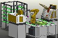 育能小型工业4.0智能无人工厂