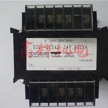 原装日本丰澄电机TOYOZUMI单相变压器SD21-200A2图片