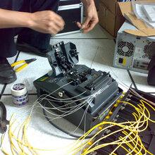 光电光纤熔接团队光缆接续工程洪梅光纤对接工程