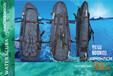 超长脚蹼包批发加工长蛙袋背包蛙鞋包潜水装备收纳包
