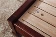 木言木語臥室實木家具1.82.0中式實木雙人床608#藥木床