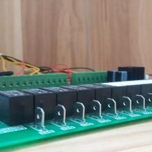 中央空调控制器控制多个空调风冷、水冷模块机组,主板可以控制4个压缩机,最多8块模块进行组网运行图片
