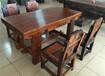 海東船木一品家具茶臺茶幾批發老船木茶桌椅組合圖片實木仿古功夫茶幾