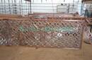 河北优质铝合金镂空雕花隔断室内会所装修铝艺屏风
