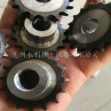 永利烘干加工小型電器傳動鏈輪,標準雙節距傳動鏈輪圖片