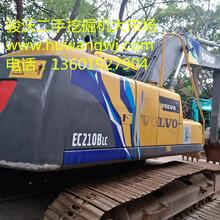 沃爾沃210挖掘機二手挖掘機市場質量可靠挖掘機廠家直銷圖片