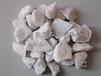 白色石子/白色砾石/汉白玉石子/砾石/雪花白石子