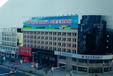 沁阳市怀府路格林豪泰楼顶广告大牌