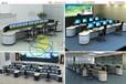 淮南應急指揮中心控制臺電力調度室調度臺高端產品