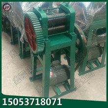 铜铝铁丝拔丝机钢筋加工厂拉丝机配套轧尖机