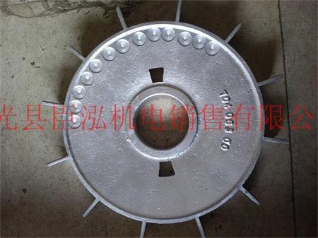 臣泓机电定制异型铝风叶,内孔40-50