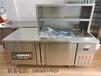 佳伯奶茶操作台组合式奶茶操作台不锈钢多功能操作台