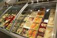 超市卧式生鲜冷藏柜猪肉冷藏展示柜卧式冷藏?#20849;?#26588;