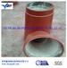 淄博赢驰耐高温电厂水泥厂专用氧化铝耐磨陶瓷管道