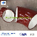葫芦岛赢驰生产氧化铝陶瓷贴片耐磨管道弯头多年经验
