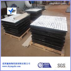 陶瓷橡胶二合一复合板,陶瓷橡胶三合一复合板,橡胶型耐磨陶瓷衬板,耐磨陶瓷橡胶板