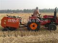 小型捆草机,拾草打捆机,水稻捆草机图片
