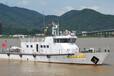 江龙100吨级钢铝渔政执法船